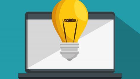 وکتور Online Education Isolated Icon 4