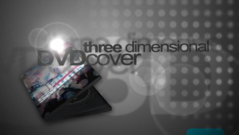 Videohive 3D DVD Cover 54011