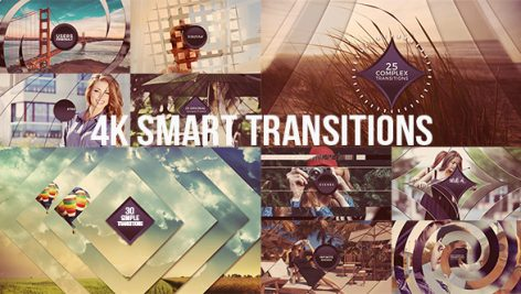 Videohive 4K Smart Transitions 19693968