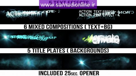 Videohive Action Titles
