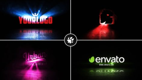 Videohive Cinematic Light Rays Logo v2 21136023