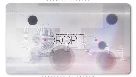 Videohive Droplet Circles Parallax Slideshow 20152229