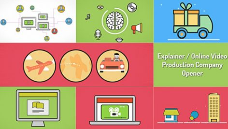 Videohive Explainer Video Production Opener 9237687