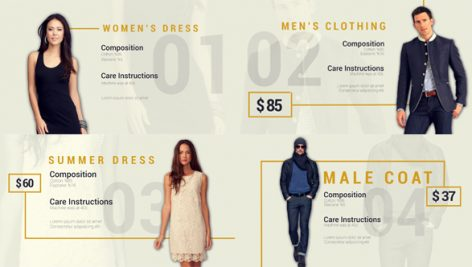 Videohive Fashion Collection 19687313