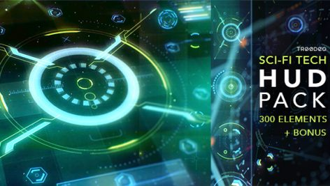 Videohive HUD Sci-Fi Infographic 18967517