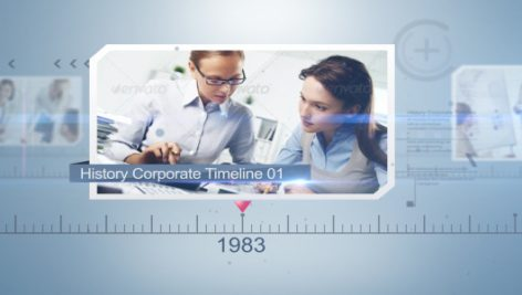 Videohive History Corporate Timeline 9375495