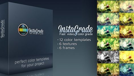 Videohive InstaGrade – Color Correction Template