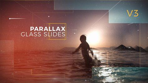 Videohive Parallax Glass Slides 17417847