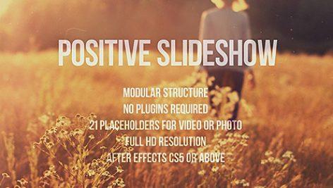 Videohive Positive Slideshow