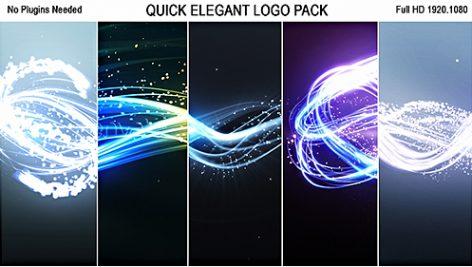 Videohive Quick Elegant Logo Pack (5 in 1) 19300914