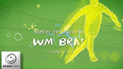Videohive Soccer Intro Animation