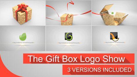 Videohive The Gift Box Logo