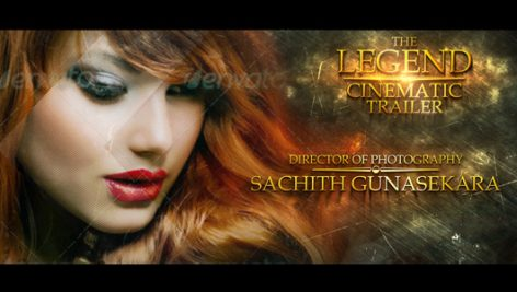 Videohive The Legend Cinematic Trailer
