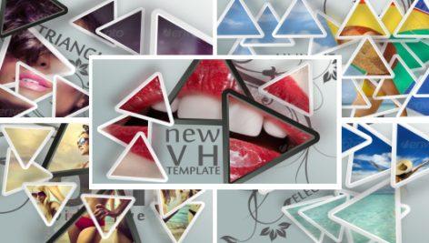 Videohive Triangles 5522888