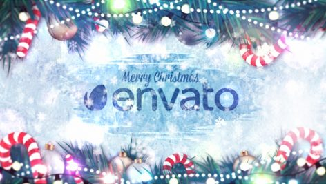 Videohive Winter Holidays Logo Reveal 14013586