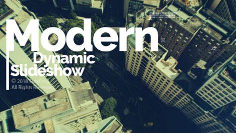 Videohive Modern Dynamic Slideshow 21033655