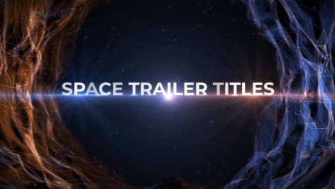Motion Array – Space Trailer Titles 117054