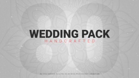 Motion Array – Wedding Pack 80 Handcrafted 117156