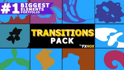 Videohive Liquid Motion Transitions 21114289