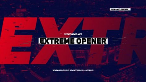 Videohive Extreme Opener 21531352