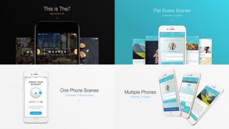 Videohive The7 – App Presentation Kit 18359237