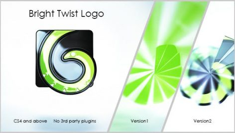 Videohive Bright Twist Logo 12914702