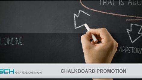 Videohive Chalkboard Promotion 4438229