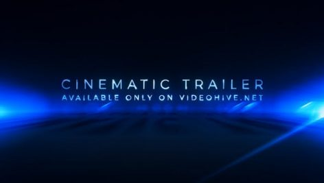 Videohive Cinematic Trailer Titles Media Opener 20704521