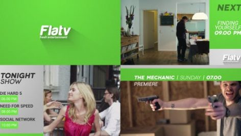 Videohive Flat Broadcast Pack 6232041
