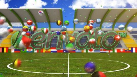 Videohive Football Logo Reveal 8056130