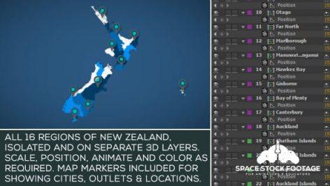 Videohive New Zealand Map Kit 18351216
