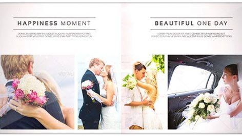 Videohive Romantic Wedding – Elegant Photo Album 18768546