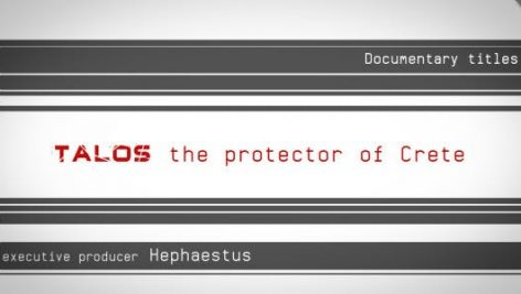 Videohive Talos Documentary Opening Closing Credits 128962
