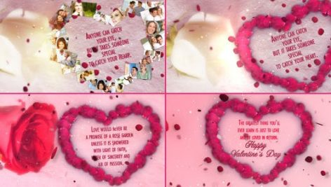 Videohive Valentines Day Wishes 3862200