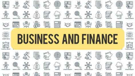 Videohive Business And Finance – Outline Icons 21291135