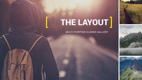 Videohive The Layout – Multi-Purpose Sliding Gallery 2.5k 13440142