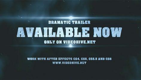 Videohive Dramatic Epic Trailer 8350161