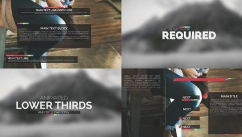 Videohive Typography Package – Lower Thirds and Titles 10734812
