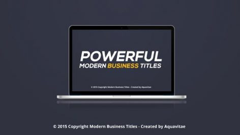 Videohive Powerful Modern Business Titles 11306639