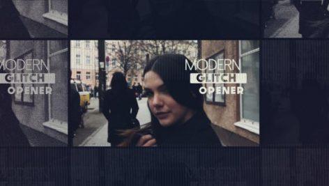 Videohive Modern Glitch Opener 13608774