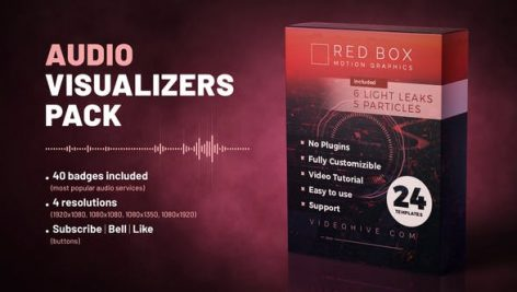 Videohive Audio Visualizers Pack 27144986