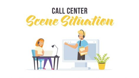 Videohive Call center – Scene Situation 27597249