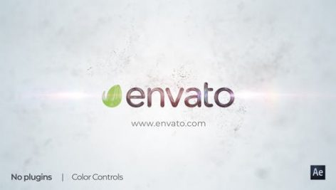 Videohive Clean Simple Particles Logo Reveal 26881704