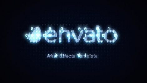 Videohive Coded Text Logo and Graphic Reveal 26119643
