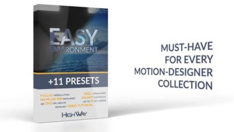 Videohive Easy Environment 11 Presets 17607085