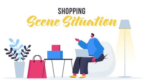 Videohive Shopping – Scene Situation 27642742