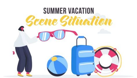 Videohive Summer vacation – Scene Situation 27642920