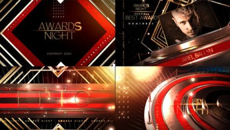 Videohive Awards Show Broadcast Pack 28303058