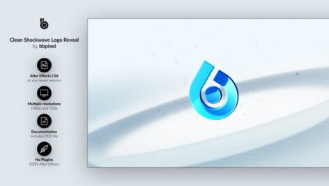 Videohive Clean Shockwave Logo Reveal 26949689