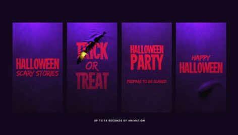 Videohive Halloween Scary Stories 24875429